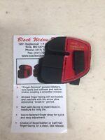 Wilson Black Widow Leather Split Finger Shooting Tab Right Hand Medium