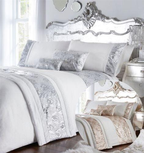 Pailette Bettbezug Betten Bett Satz Bettwäsche oder Kissen Läufer   | Ruf zuerst