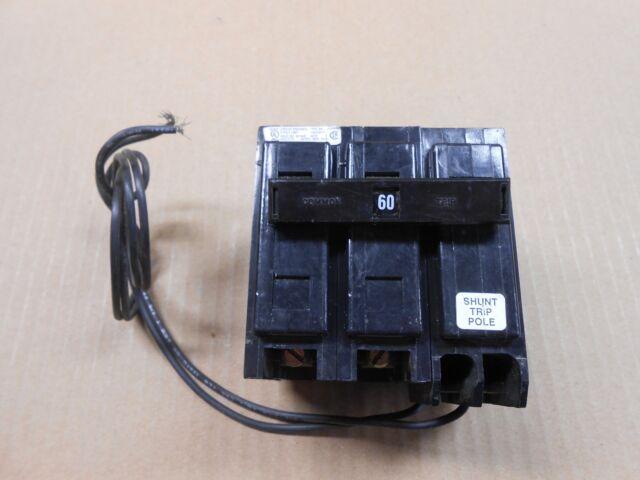 New Cutler Hammer Ba Bab Bab2060s Circuit Breaker Shunt Trip 60a 60 Amp 2p 240v
