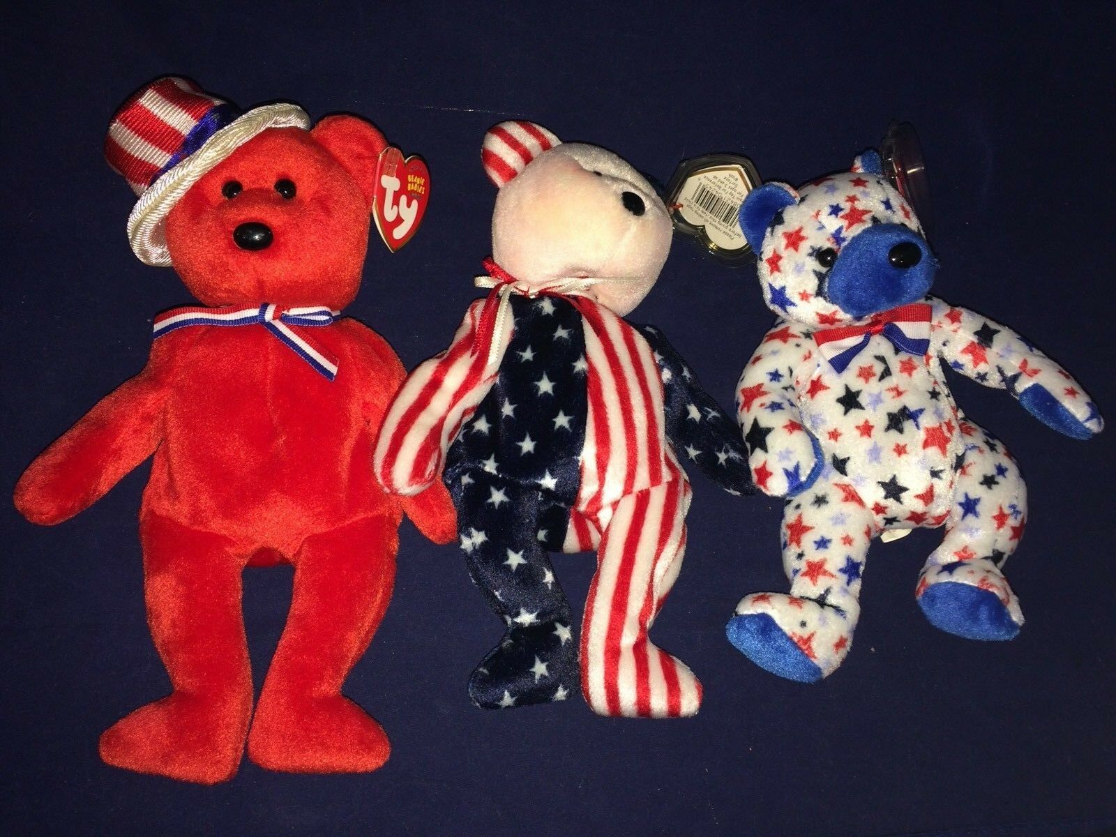 Patriotic Beanie Babies Lot Of Of Of 5 0a7bbf