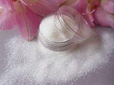"Nail Art Wedding ""White"" Sparkle Glitter Powder Dust Mix Pot Tip Nail Decoration"