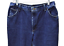 Wrangler-Womens-16X30-Mom-Jeans-Relaxed-Fit-Cotton-Classic-Rise-Tapered-Leg-Blue thumbnail 2