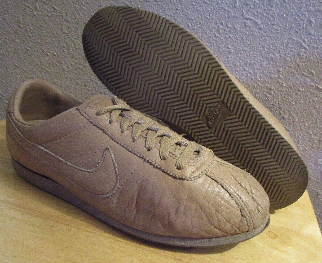 Rari si ripropone di 80 '1986 nike cortez waffle brown tan scarpe da corsa, uomo