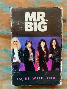 Mr. Big SINGLE Cassette Tape To Be With You / Green Tinted Sixties Mind Rock