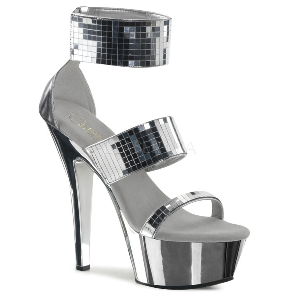 Pleaser KISS-270 272 285 292 293 297 Exotic Dancing Platform Ankle Strap Sandale