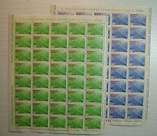 1970  ITALIA  20+90 lire  Rete Telefonica Teleselettiva  fogli interi MNH**