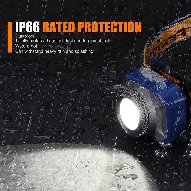 Fenix HL40R Cree XP-L HI V2 LED Torch 600LM Headlamp Headlight Head Torch LED Waterproof 755b38