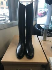 Petrie Leather Long Riding Boots Yard Stable Size 5 CALF 36 HEIGHT 46  RRP £187