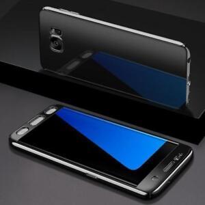 Custodia-Integrale-per-Samsung-Galaxy-S9-Plus-Specchio-Nero-Film-Protezione-An