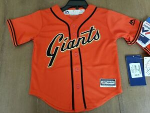 wholesale dealer 1cdef 31733 Details about Majestic San Francisco SF Giants Jersey - Baby/Toddler 2T 3T  4T New!