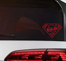 Super Dad on Board Sticker Vatertag Aufkleber JDM Decal Premium Folie 12,5 cm