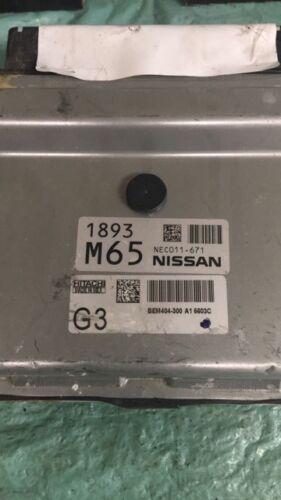2013-2015 Nissan Sentra ecm ecu computer NEC011-671