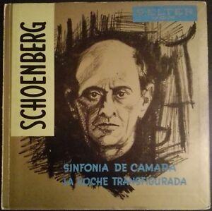 Schoenberg - Verklaerte Nacht, Kammersinfonie, HORENSTEIN, VOX Belter, MONO