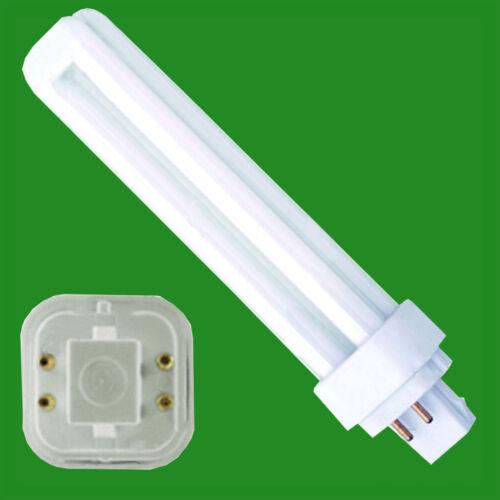 Low Energy CFL BLD Double Turn Light Bulb Cool White Lamp 4 pin 6x 13W G24q-1