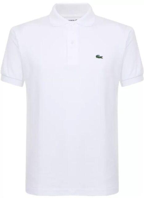 e06df885 Lacoste Short Sleeve Polo L1212 001 White Mens 3 for sale online | eBay