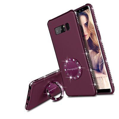 Samsung Galaxy Note 8 Case, Glitter Phone Case for Women Girls with Kickstand 745786999130 | eBay