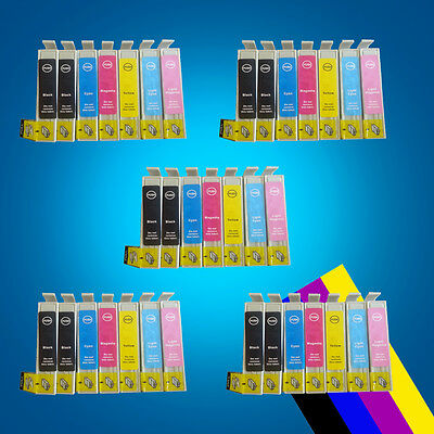 35 Ink Cartridge Replace for Epson STYLUS PHOTO 1400 1410 1500w PX660 PX730 WD 2