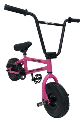 FRO Systems Renegade Stunt Bicicleta Bmx Mini-rosa fúcsia-Adulto e juvenil