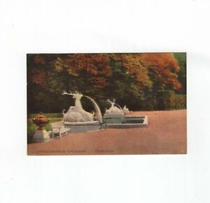 AK Ansichtskarte Schwetzingen / Schlossgarten / Hirschgruppe