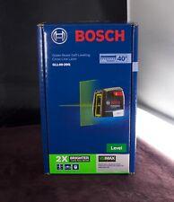 Bosch Gll40 20g Self Leveling Cross Line Laser New