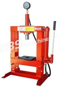 Pressa idraulica manuale da banco sogi p10 m da 10 ton ebay for Pressa idraulica manuale