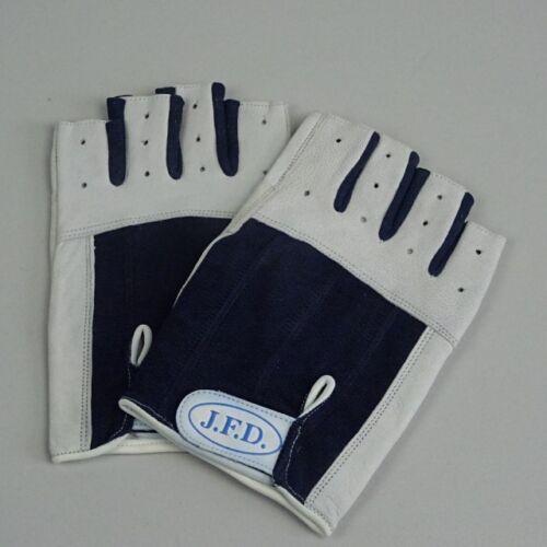 ABVERKAUF: J.F.D. Segelhandschuhe Gr. XL / 8,5  kurz halbe Finger Leder
