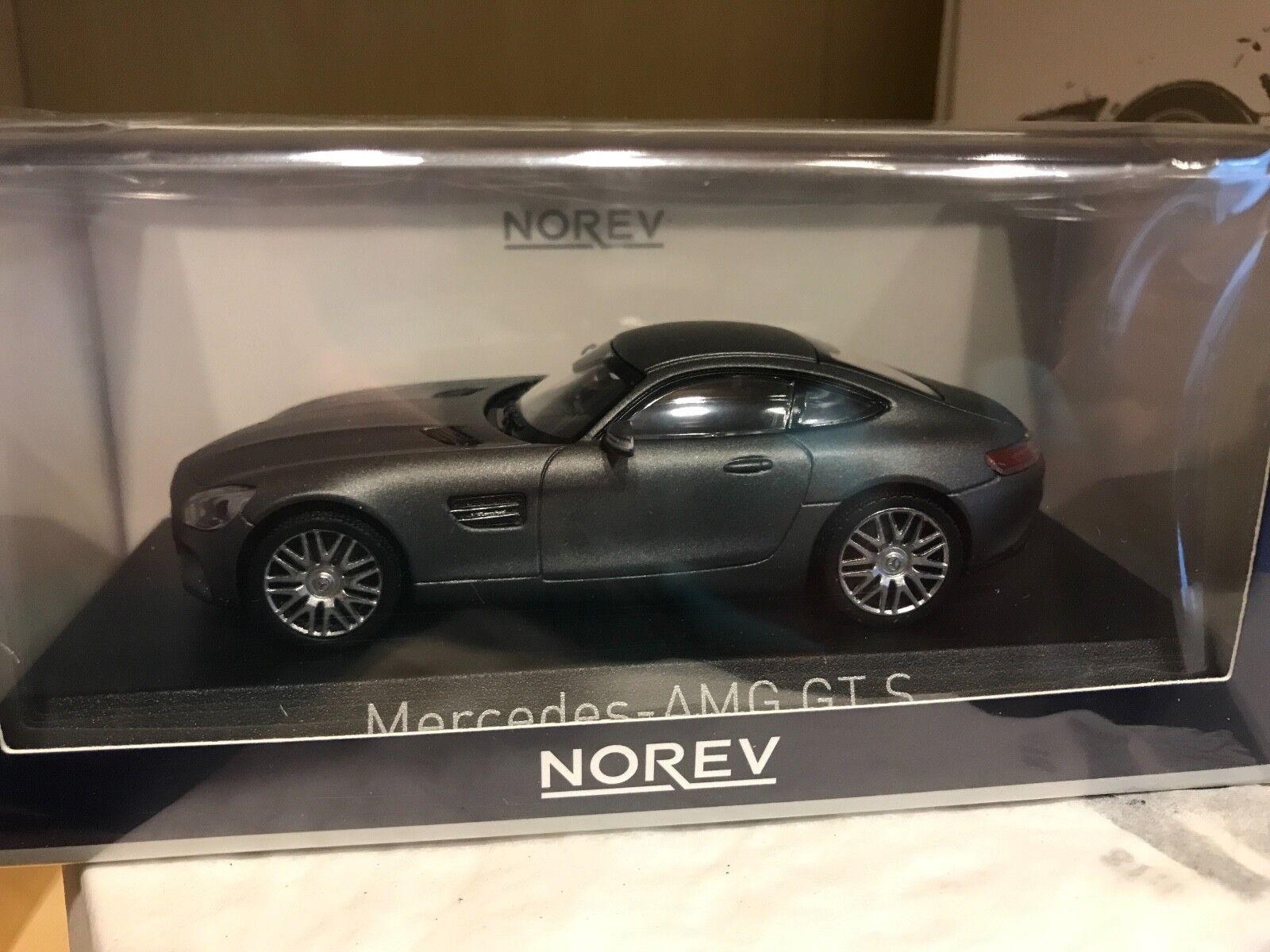 Mercedes-AMG GT S - grey metallic - NOREV - 1 43