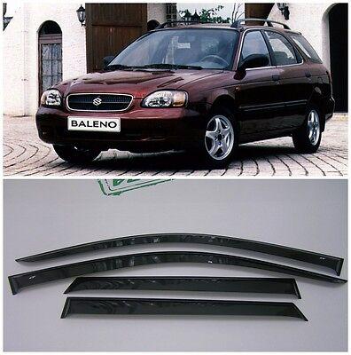 For Suzuki Baleno Wagon 1999-2002 Side Window Visors Rain Guard Vent Deflectors