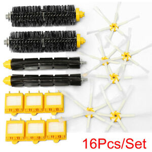 Details about For iRobot Roomba 700 760 770 780 790 Vacuum Clean 16Pcs  Brush & Hepa Filter Kit