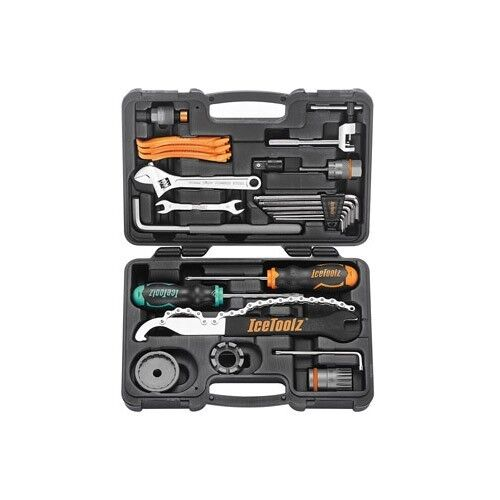 IceToolz 82F4 Essence Tool Kit   Bike Bicycle Cycling 33 Functions 16 Tools
