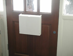 Letterbox Cage Post Mail Guard Letter Catcher Protector Ebay