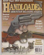 RIFLE'S HANDLOADER Magazine December 2012, AMMUNITION RELOADING JOURNAL.