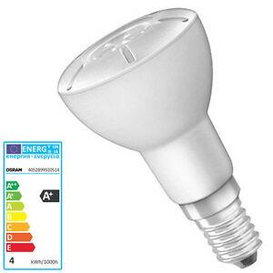 LED-Lampe-OSRAM-R50-E14-4-Watt-Strahler-Spot-Birne-Reflektorlampe-Parathom-NR50