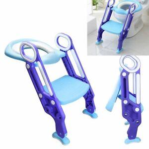 Toilettentrainer 3 in1 mit Treppe Kinder Toilettensitz Lerntöpfchen Baby WC