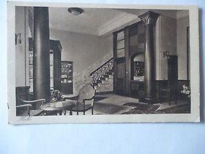 Ansichtskarte-Halle-Hotel-Mittelhaeuser-Modernes-Haus-ersten-Ranges-innen