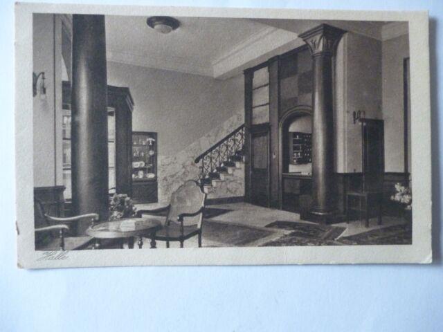 Ansichtskarte Halle Hotel Mittelhäuser Modernes  Haus ersten Ranges innen