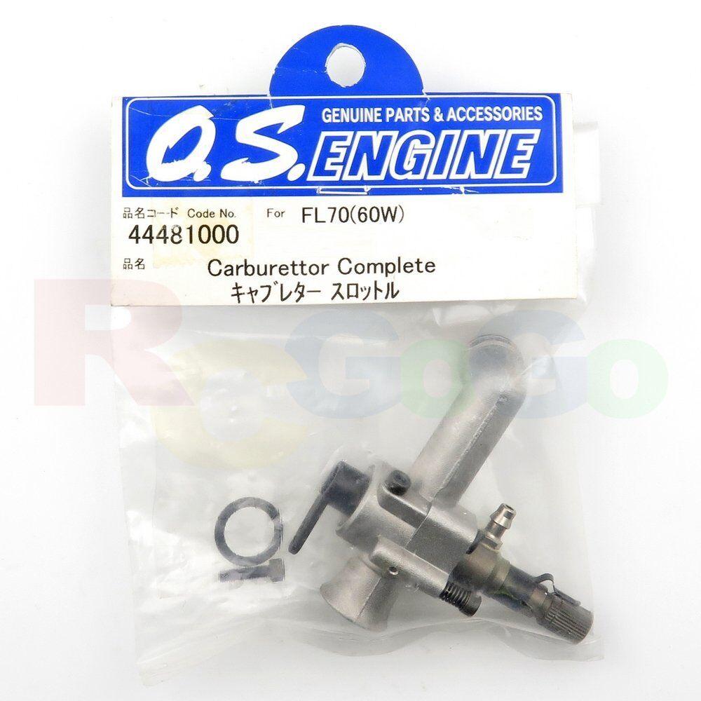 Carburador 60w fl-70 os44481000  O.s. Engines Genuine Parts