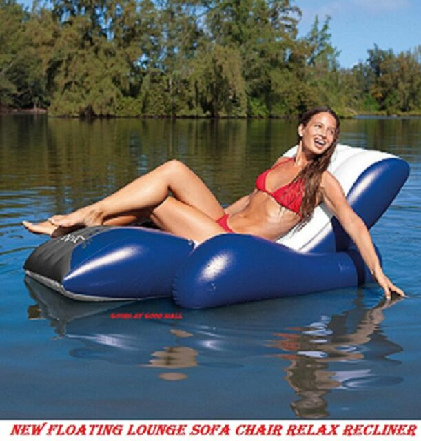 Sport Water Sofa,Chair Floating Lounge Relax Recliner Comfort Swimming Pool Sea
