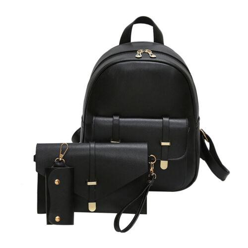 Original MENGXILU Top Quality 3Pcs//Set Women Backpacks Female School Bags