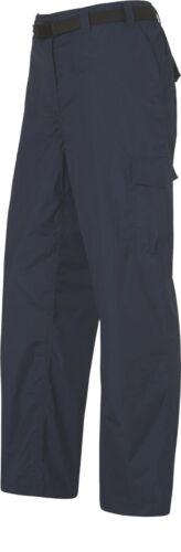 Chaussures Femme Marche Pantalon de randonnée eau résistante Cargo Bleu Marine Marron Ceinture Avec D-Ring