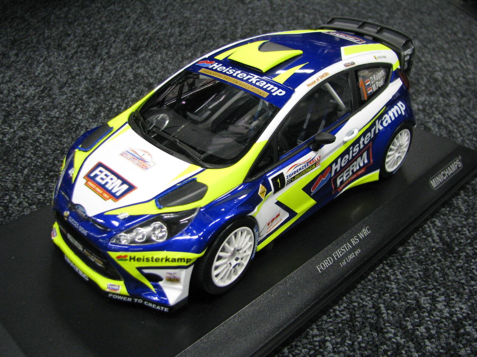 Minichamps Ford Fiesta WRC 2016 1 18 Kuipers   Poel Zuiderzee Rally (MCC)