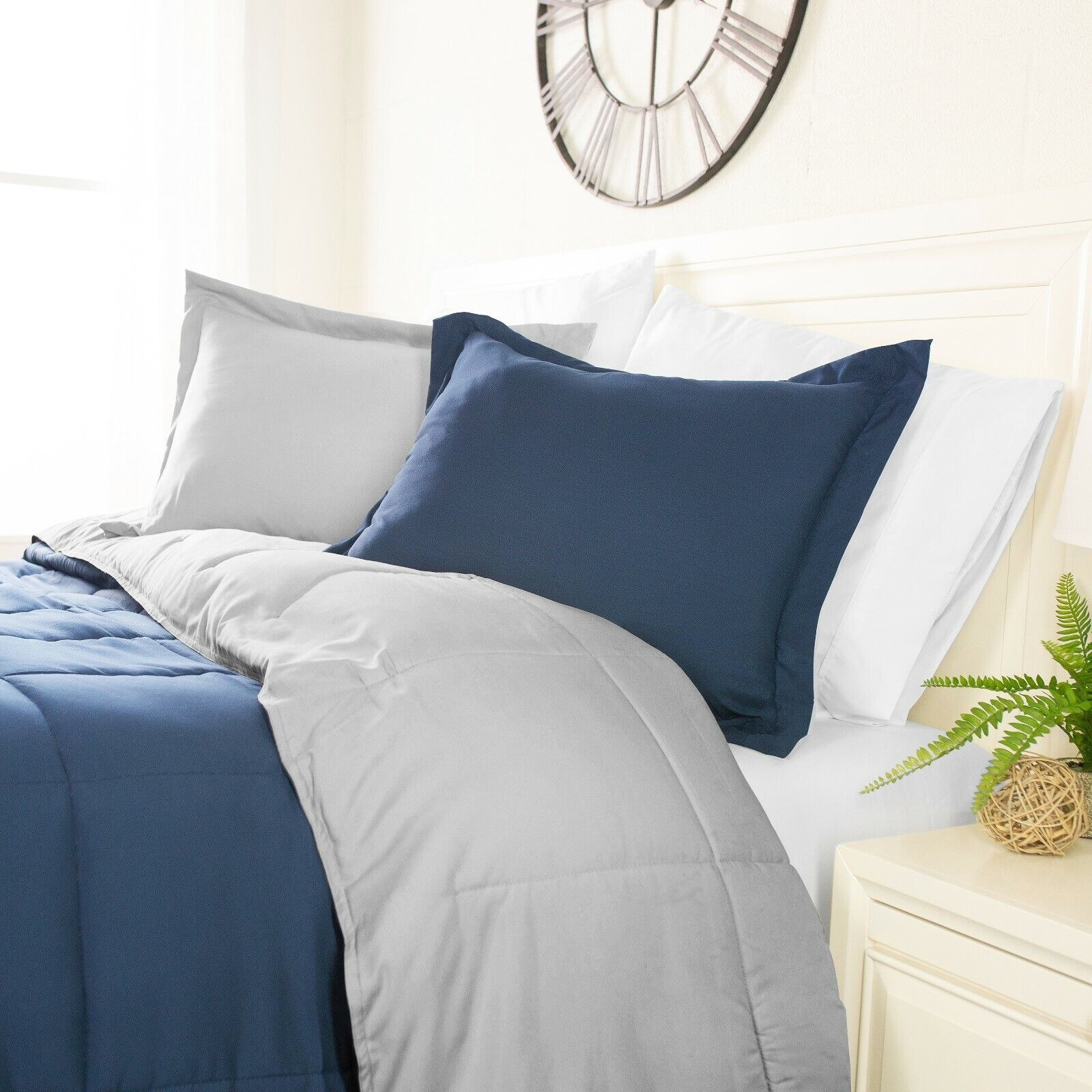 The Classics rotesigned Reversible Comforter Collection by Sharon Osbourne Home
