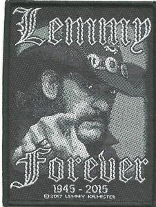 LEMMY-forever-2017-WOVEN-SEW-ON-PATCH-official-merchandise-MOTORHEAD