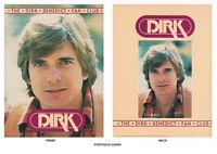 Poster/portfolio:fan Club Of America - Dirk Benedict - 13 Pcs With Fldr Lc10 E