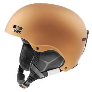 Uvex hlmt 5 pur Freeride Skihelm IAS-3D Copper Mat 52-55 cm Neu Uvp. 99.