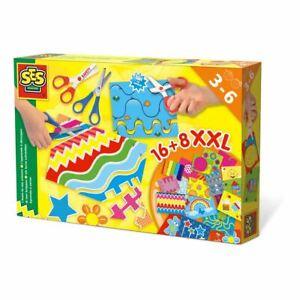 Ses Creative DEI BAMBINI I Imparare A Uso Forbici Set Multicolore (14828)