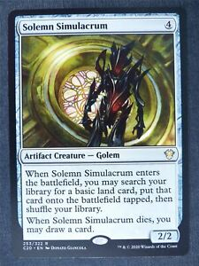 Solemn Simulacrum - Mtg Magic Cards #LP