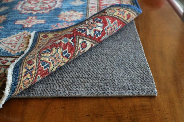 Rubber And Felt Rug Pads Non Slip Padding Skid For Area Rugs 1 8 Pad