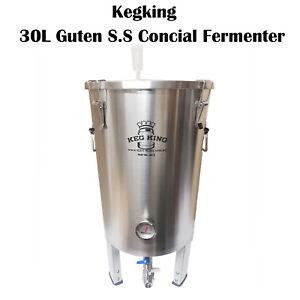 Kegking-GUTEN-30L-Full-Stainless-Steel-SS304-Conical-Fermenter