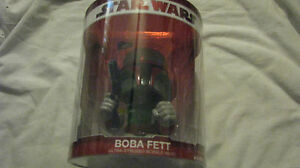 NEW STAR WARS BOBA FETT BOBBLE HEAD 2009
